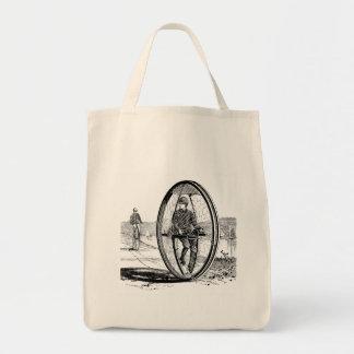 Big Wheel Cycle - Vintage Unicycle Bicycle Bag