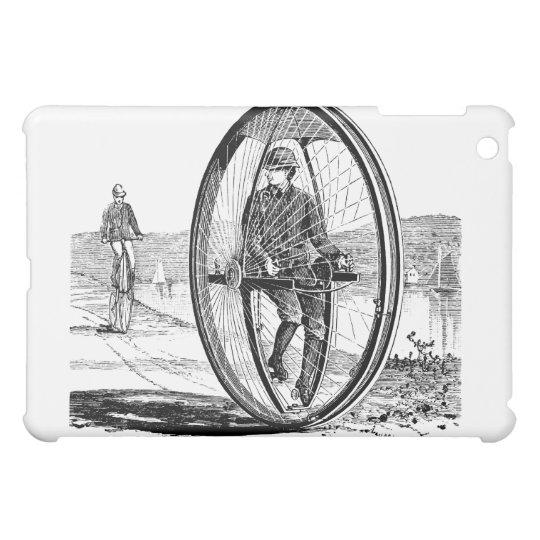 Big Wheel Cycle - Vintage Unicycle Bicycle iPad Mini Covers