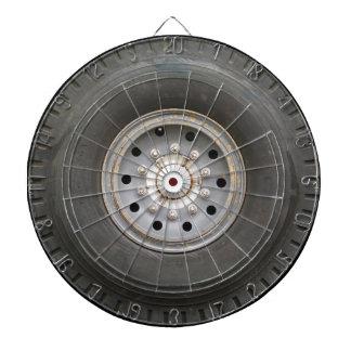 Big Wheel Dartboard With Darts