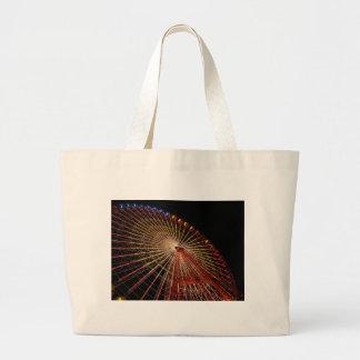 Big Wheel Funfair Night jpg Canvas Bag