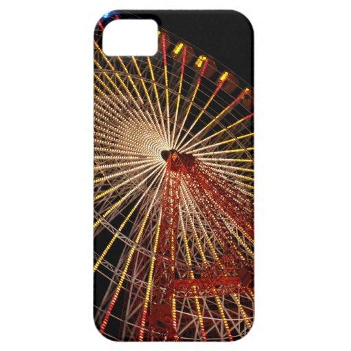 Big Wheel Funfair Night.jpg iPhone 5 Covers