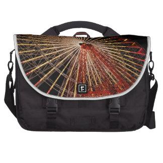 Big Wheel Funfair Night jpg Computer Bag