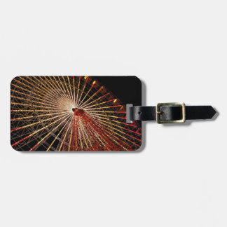 Big Wheel Funfair Night.jpg Luggage Tag
