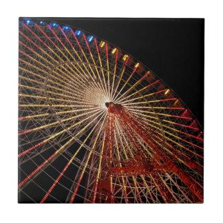 Big Wheel Funfair Night.jpg Small Square Tile