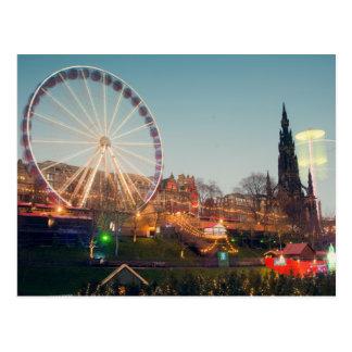 Big Wheel in Edinburgh Postcard