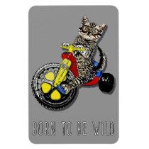 Big Wheel Kitty 4x6 Magnet