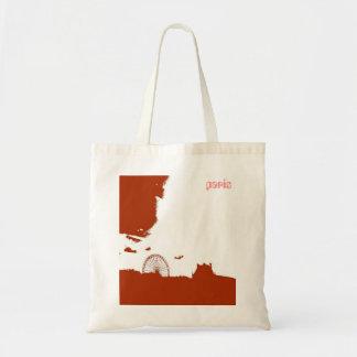 big wheel paris canvas bag