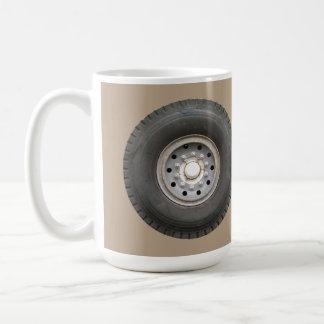Big Wheel...with your background color. Coffee Mug