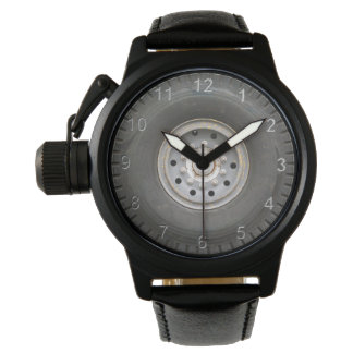 Big Wheel Wrist Watch