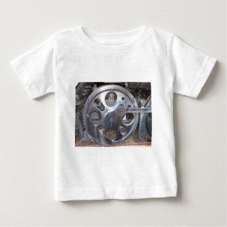 Big Wheels Keep on Turnin' Railroad Steam Engine Infant T-shirt