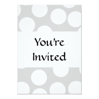 Big white dots on gray background. card