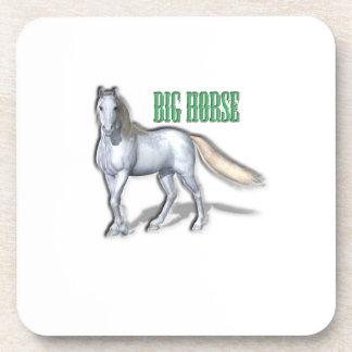 Big White Horse Beverage Coaster