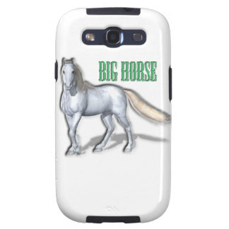 Big White Horse Samsung Galaxy S3 Case