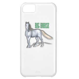 Big White Horse Case For iPhone 5C