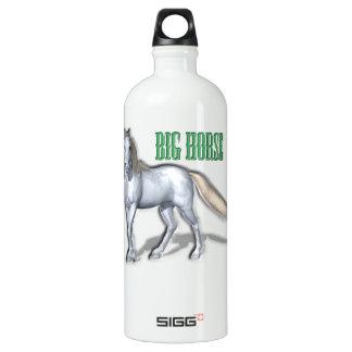 Big White Horse Water Bottle