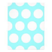 Big White Polka Dots Flyer