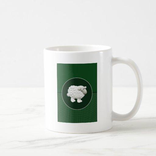 Big White Sheep Coffee Mug