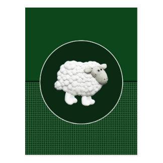 Big White Sheep Postcard