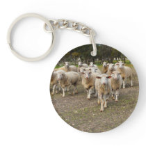 Big Woolly Sheep Marching In, Keychain