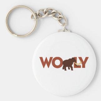 Big Wooly Mammoth Keychain