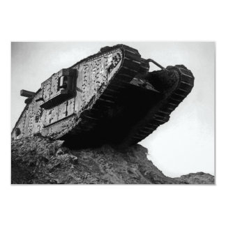 Big World War I Tank Mk IV Female F4 Flirt II Card