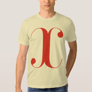 Big X: Jeanne Moderno Lettres T-shirt