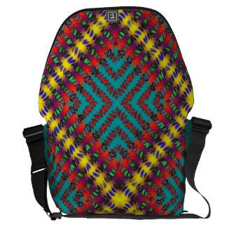 Big Yarn Blanket Weave Messenger Bag