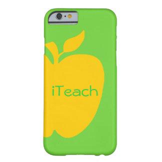 Big Yellow Apple Teacher's iPhone 6 Case