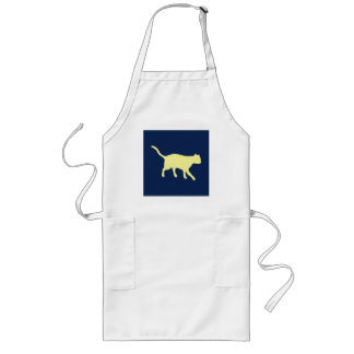 big yellow cat long apron