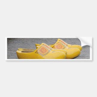 Big yellow clogs, Holland Bumper Sticker