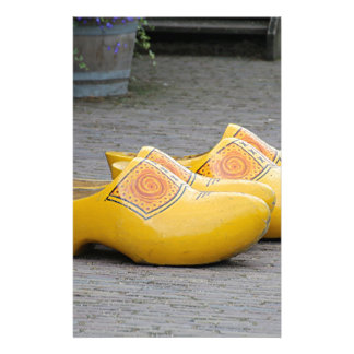 Big yellow clogs, Holland Stationery