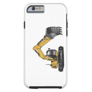 Big Yellow Excavator iPhone 6 Case