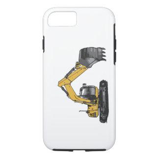 Big Yellow Excavator iPhone 7 Case