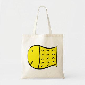 Big Yellow Fish Tote Bag