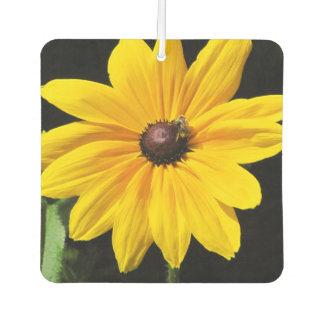 Big Yellow Flower and bug Air Freshener