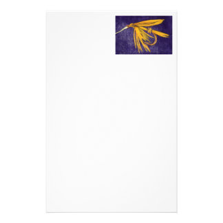 """""""Big Yellow May"""" Wet Fly Stationery"""