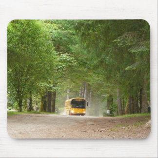 Big Yellow School Bus Mouse Pad