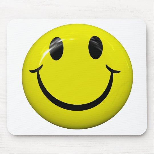 Big Yellow Smiley Face Mousepad