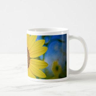 Big Yellow Sunflower Coffee Mug