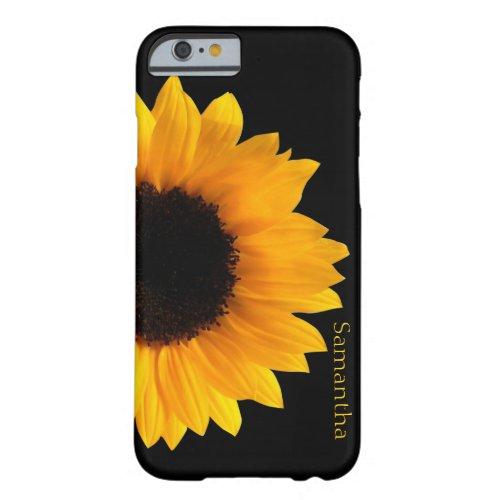 Big Yellow Sunflower iphone 6 Case Phone Case