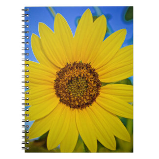 Big Yellow Sunflower Notebook