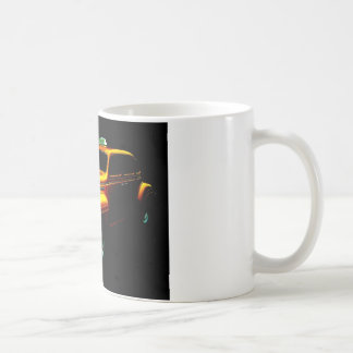 Big Yellow Taxi Classic White Coffee Mug