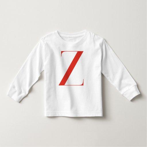 Big Z: Jeanne Moderno Lettres Toddler T-shirt