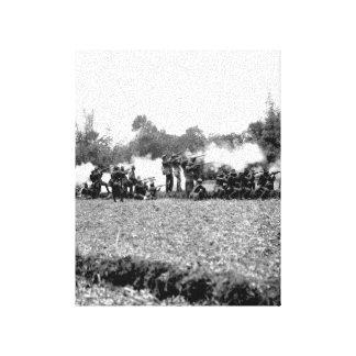 Bigaa.  Kansas Volunteer Infantry _War Image Canvas Print