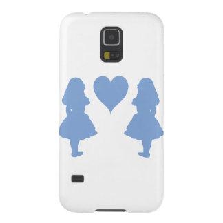 Bígaro Alicia azul a Alicia Carcasas Para Galaxy S5