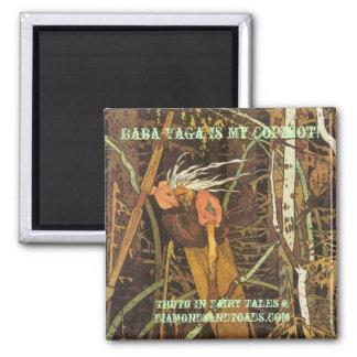 bigbaba, Baba Yaga Is My Copilot!, Truth In Fai... Refrigerator Magnets
