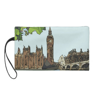 BigBen, London - Wristlet