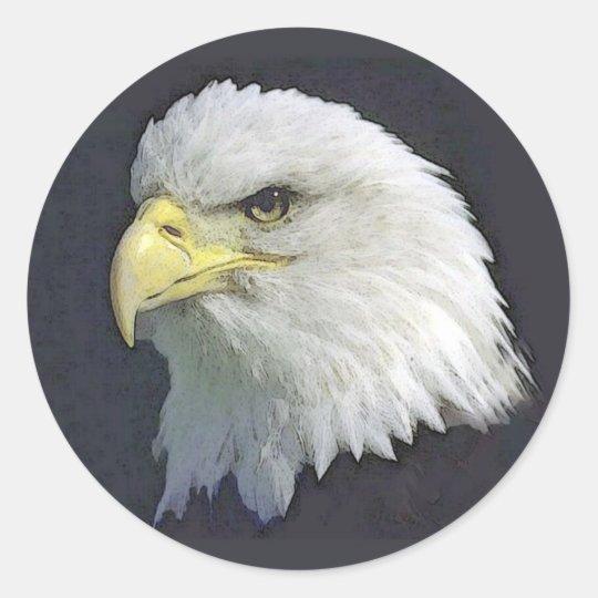 bigbird classic round sticker