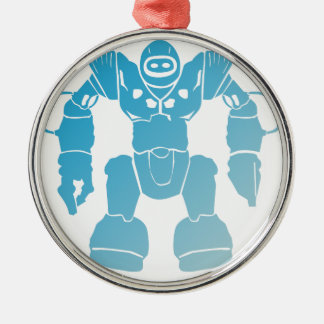 BigBot Robot Metal Ornament