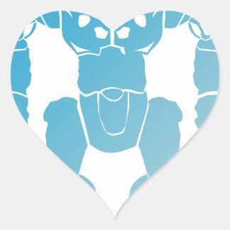 BigBot Robot Heart Sticker